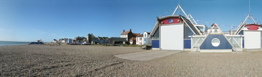 Aldebugh beach from RNLI
